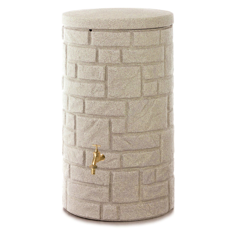 3p regenspeicher arcado 230 l sandstein kaufen bei obi. Black Bedroom Furniture Sets. Home Design Ideas