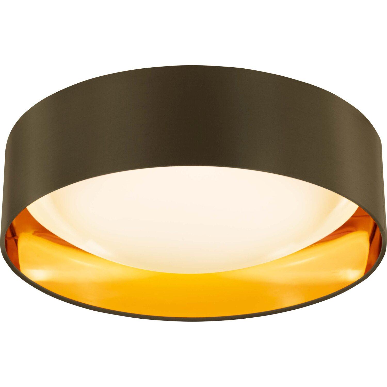 obi led deckenleuchte aliano gold braun 42 cm eek a kaufen bei obi. Black Bedroom Furniture Sets. Home Design Ideas