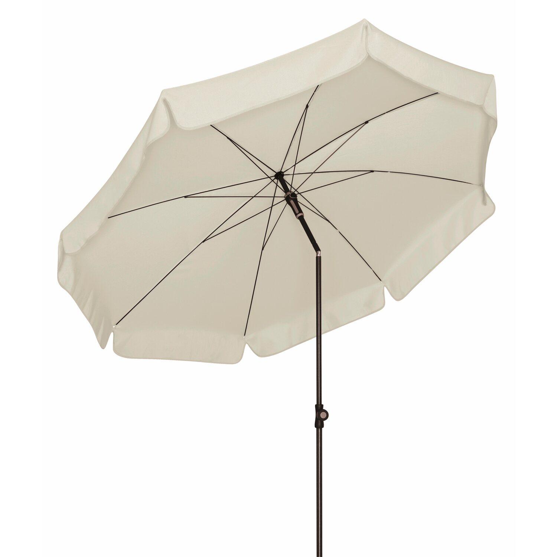 doppler sonnenschirm sunline rund 250 cm greige kaufen bei obi. Black Bedroom Furniture Sets. Home Design Ideas