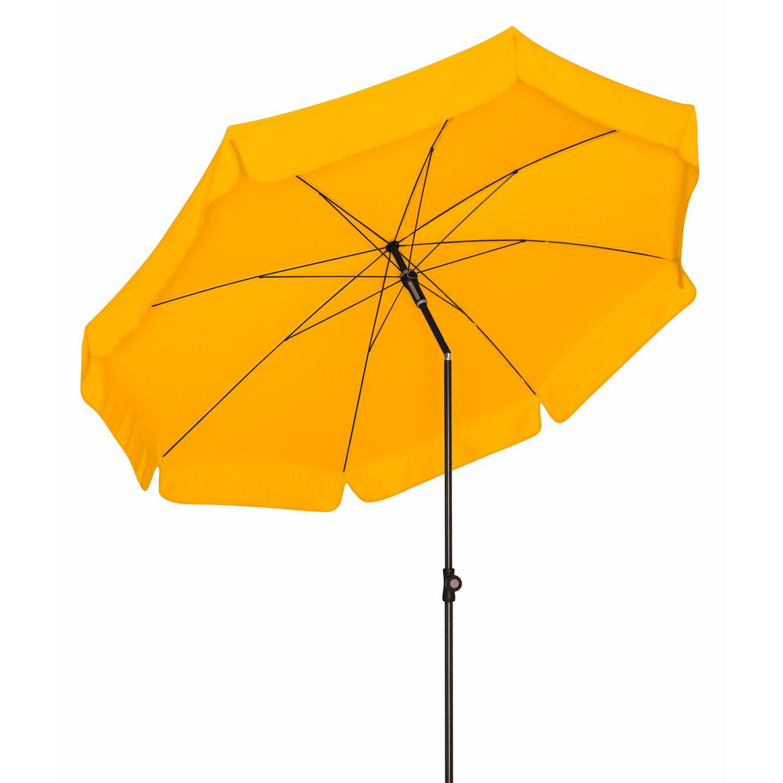 doppler sonnenschirm sunline rund 200 cm gelb kaufen bei obi. Black Bedroom Furniture Sets. Home Design Ideas