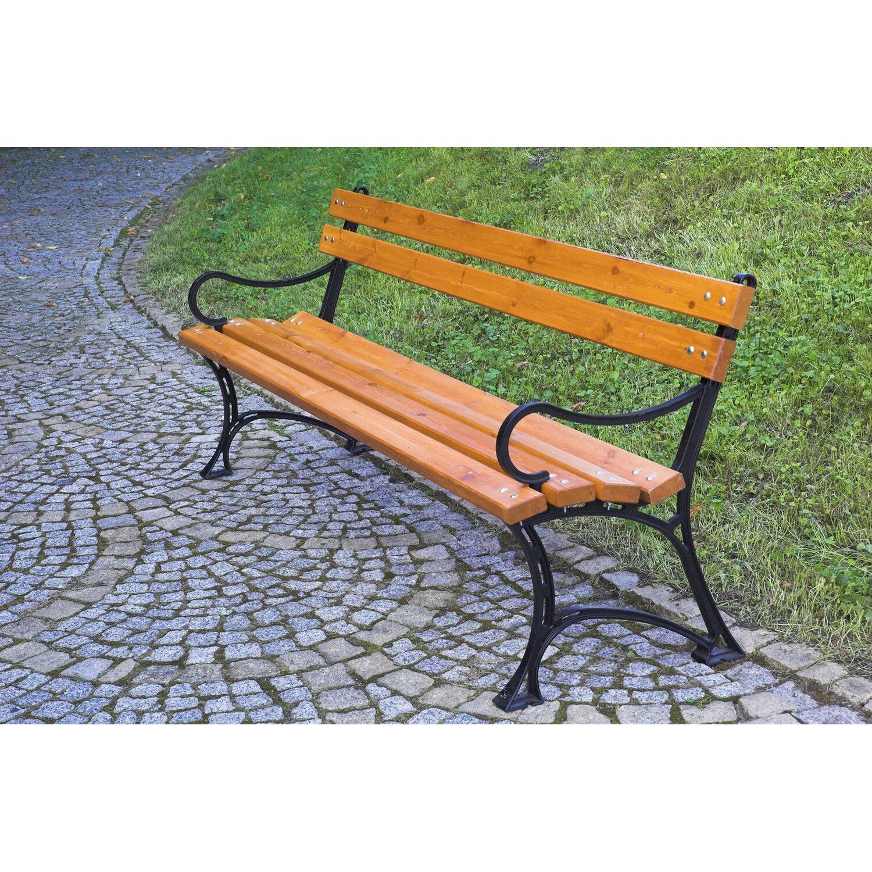 Dobar Gartenbank aus Gusseisen Massiv 4-Sitzer kaufen bei OBI
