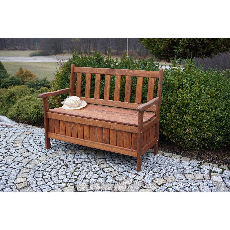 Dobar Garten-Truhenbank 2-Sitzer kaufen bei OBI