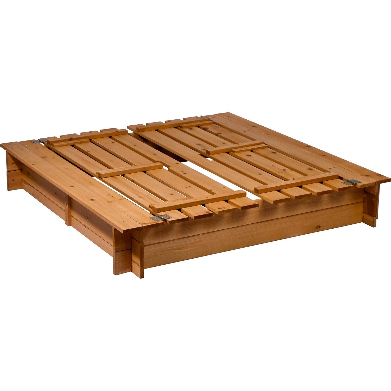 sandkasten aus holz mit deckel und sitzbank kaufen bei obi. Black Bedroom Furniture Sets. Home Design Ideas