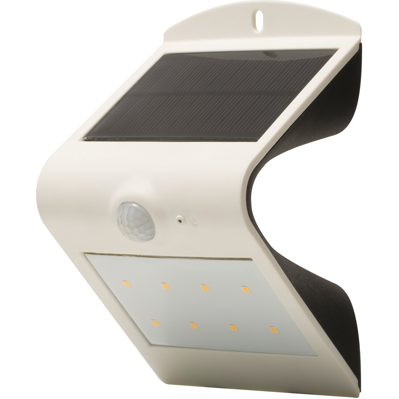 luceco led solar wandleuchte mit bewegungsmelder wei kaufen bei obi. Black Bedroom Furniture Sets. Home Design Ideas