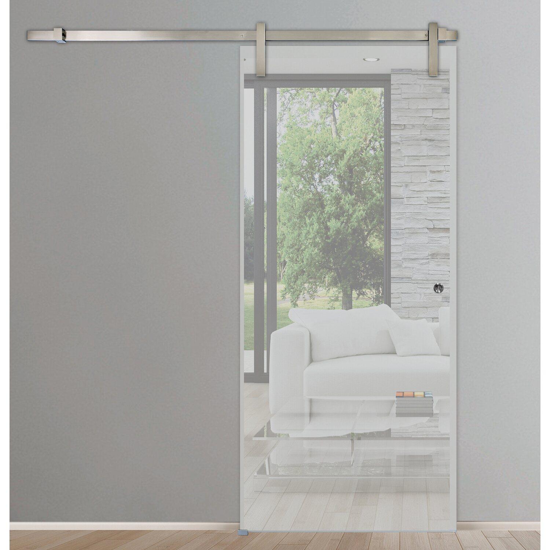 schienensystem pur in edelstahl feinschliff 180 cm kaufen bei obi. Black Bedroom Furniture Sets. Home Design Ideas