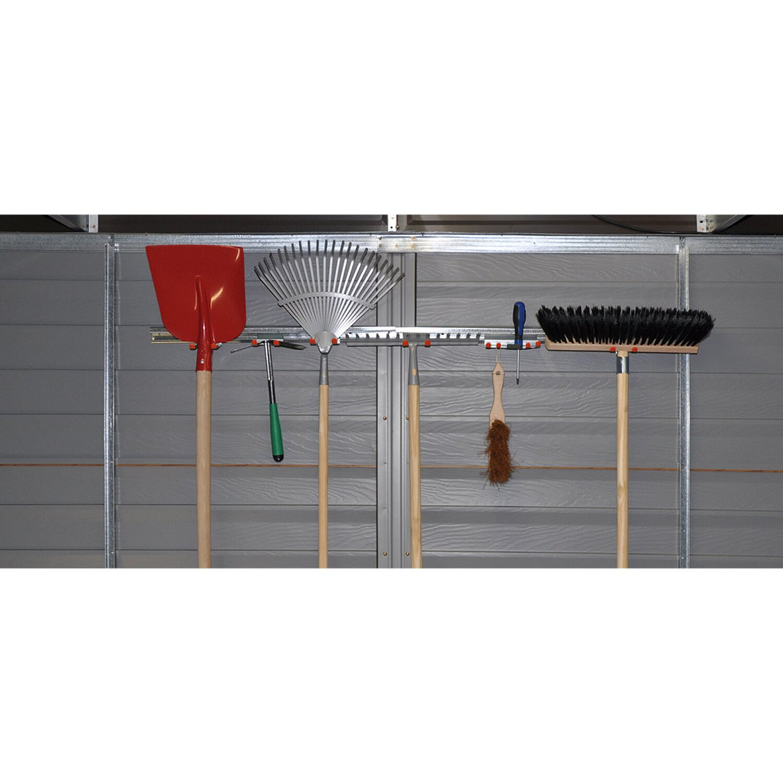 Pergart Geräteleisten-Set für Metallgerätehäuser