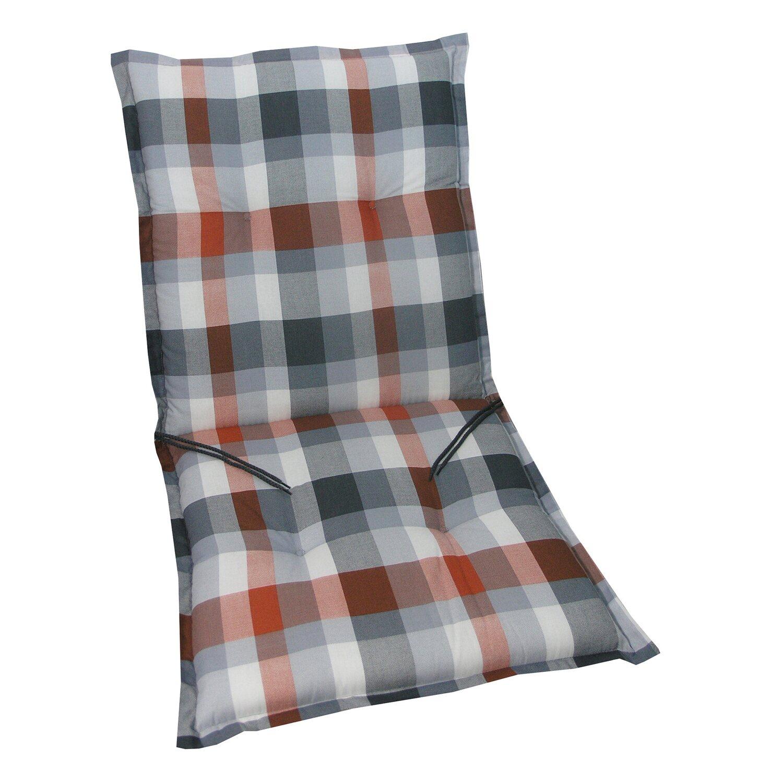niederlehner auflage langeoog rot grau kariert kaufen bei obi. Black Bedroom Furniture Sets. Home Design Ideas