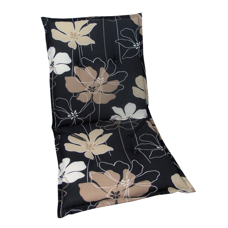 niederlehner auflage langeoog anthrazit mit blume kaufen bei obi. Black Bedroom Furniture Sets. Home Design Ideas