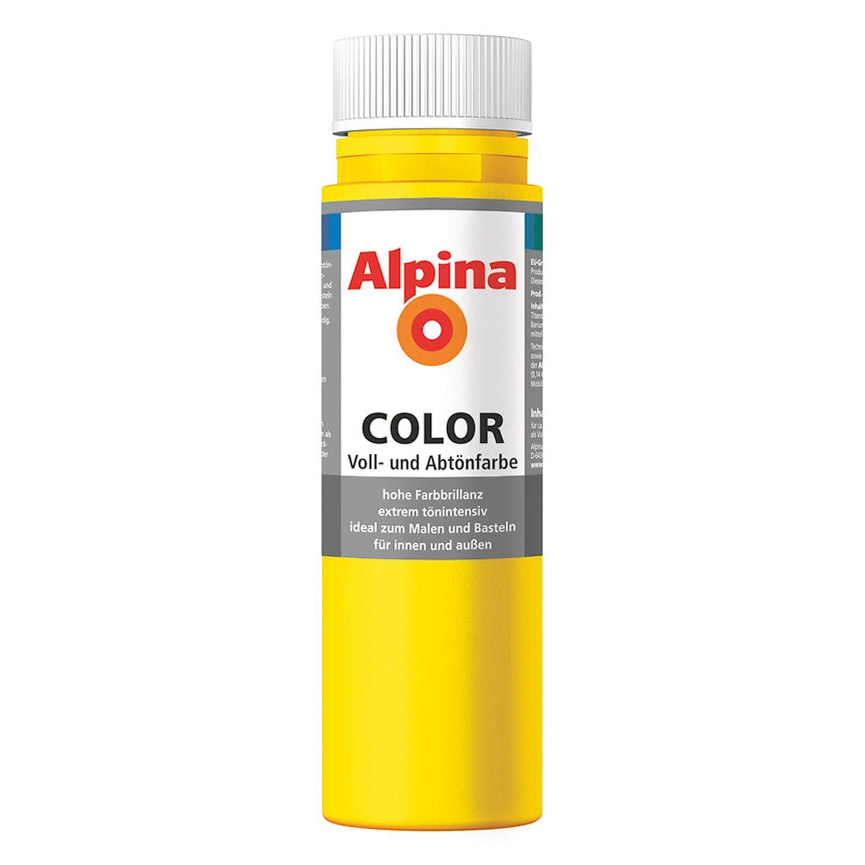 Alpina  Color Sunny Yellow seidenmatt 250 ml