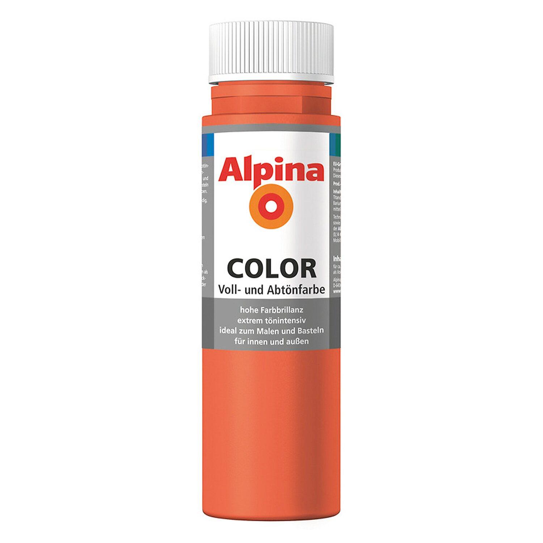Alpina  Color Happy Orange seidenmatt 250 ml