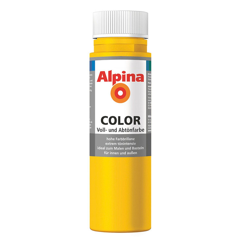 Alpina  Color Lucky Yellow seidenmatt 250 ml