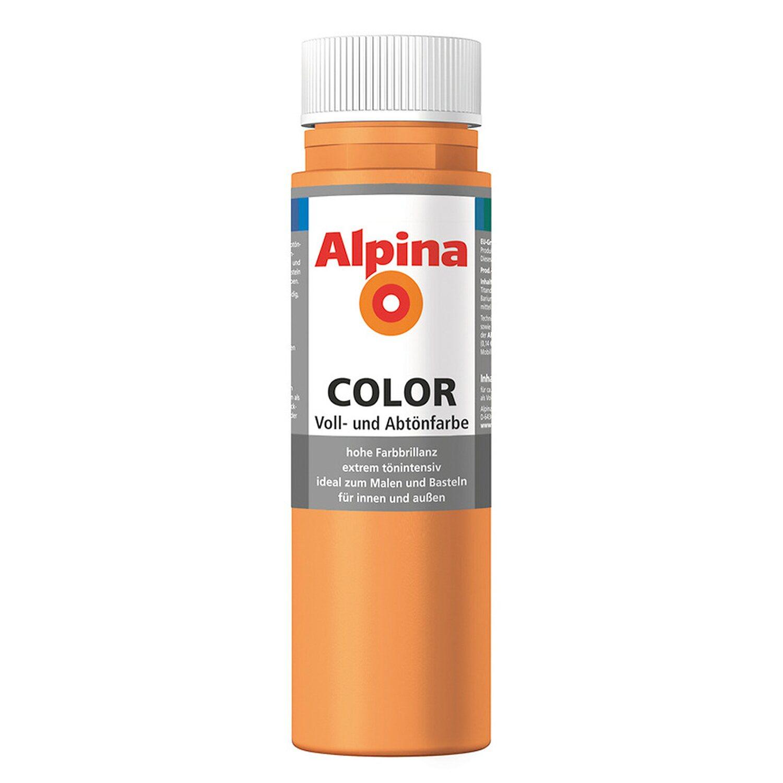 Alpina  Color Fresh Orange seidenmatt 250 ml