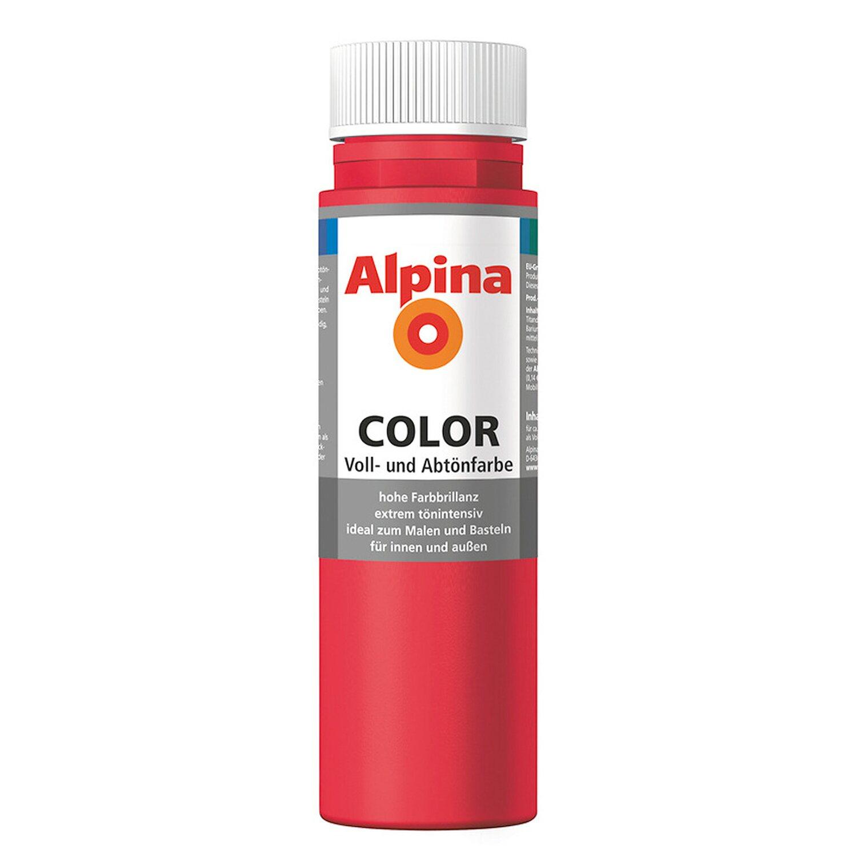 Alpina  Color Fire Red seidenmatt 250 ml