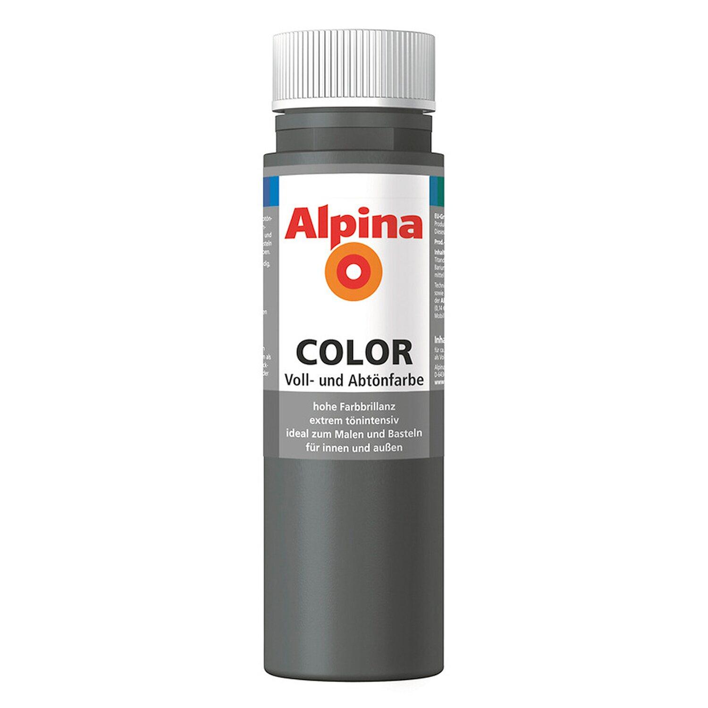 Alpina  Color Dark Grey seidenmatt 250 ml