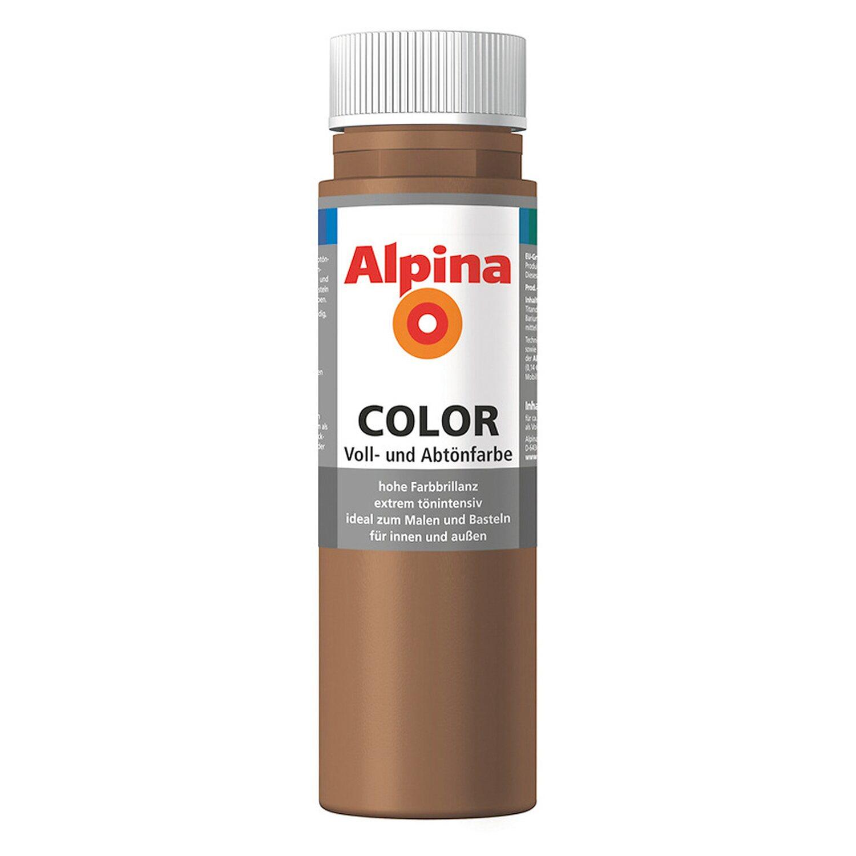 Alpina  Color Candy Brown seidenmatt 250 ml