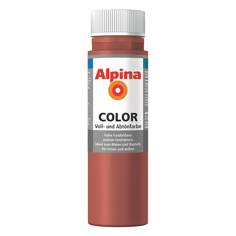 Alpina  Color Spicy Red seidenmatt 250 ml