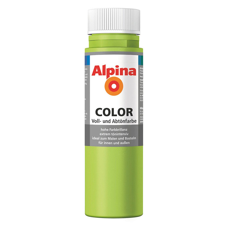Alpina  Color Power Green seidenmatt 250 ml
