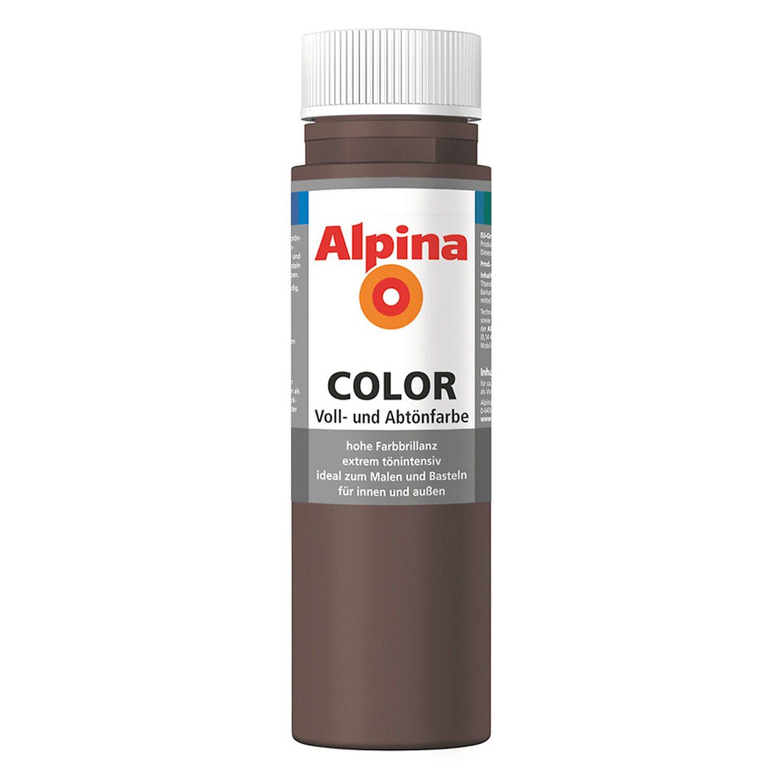 Alpina  Color Choco Brown seidenmatt 250 ml