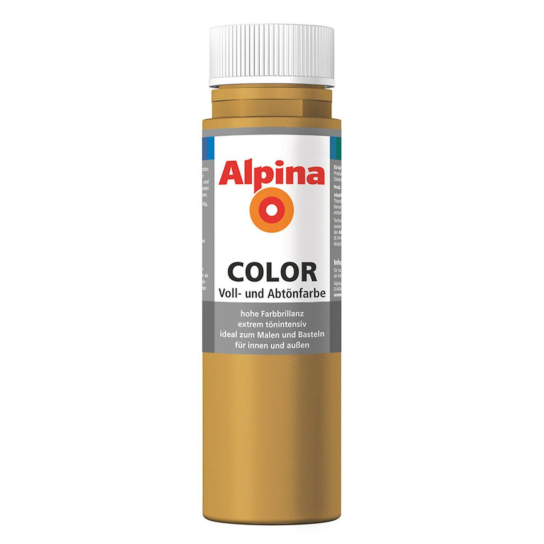Alpina  Color Sahara Brown seidenmatt 250 ml