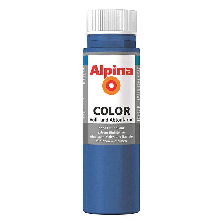 Alpina  Color Mystery Blue seidenmatt 250 ml