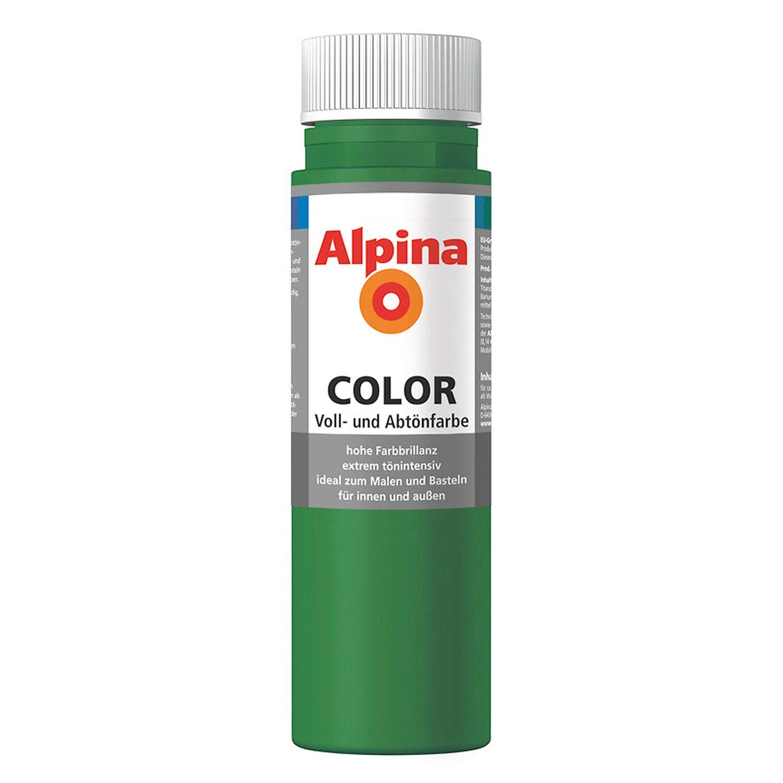 Alpina  Color Jungle Green seidenmatt 250 ml