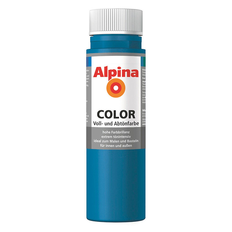 Alpina  Color Cool Blue seidenmatt 250 ml
