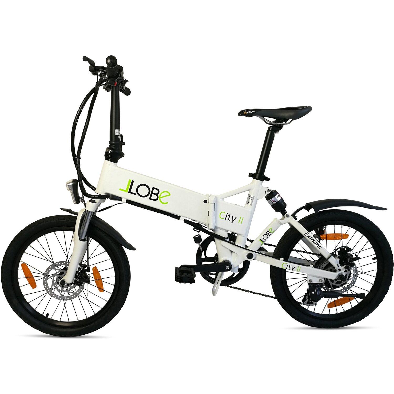 llobe e bike faltbar 20 alu city ii wei kaufen bei obi. Black Bedroom Furniture Sets. Home Design Ideas