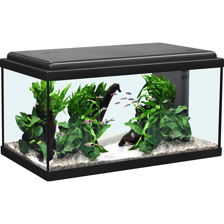 Aquatlantis Aquarium-Set Advance 60 LED Schwarz...