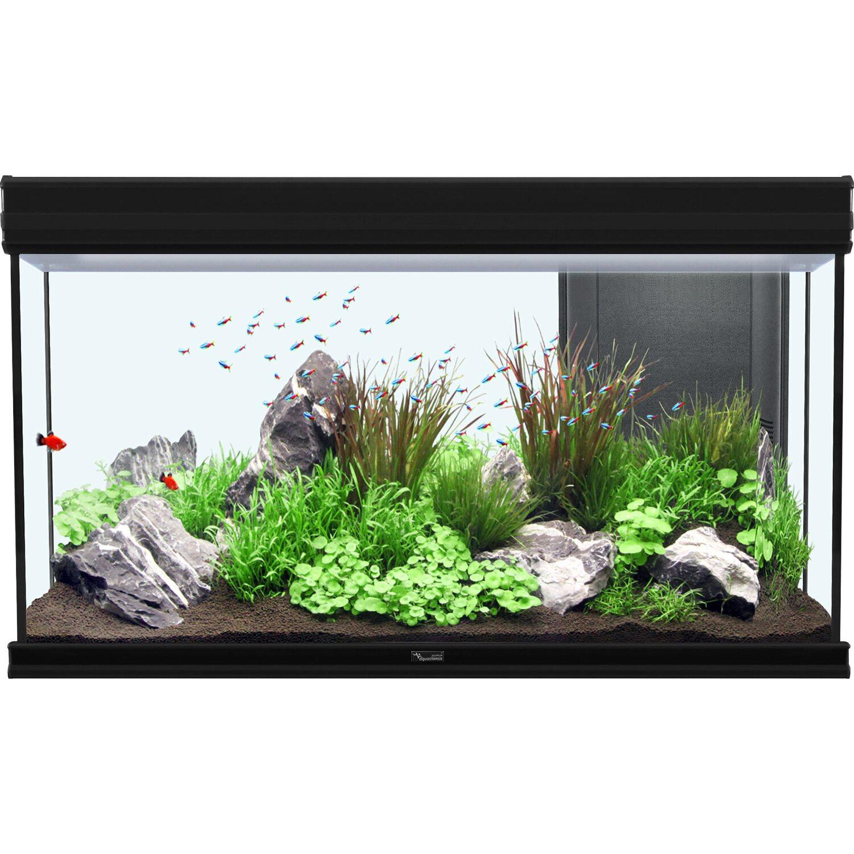 Aquatlantis Aquarium Fusion 100 Bio Schwarz 188 l