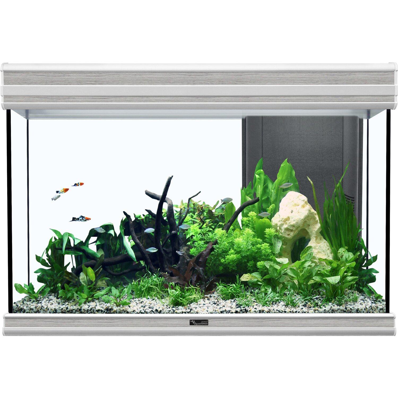 Aquatlantis Aquarium Fusion 80 Bio Esche Weiß 1...