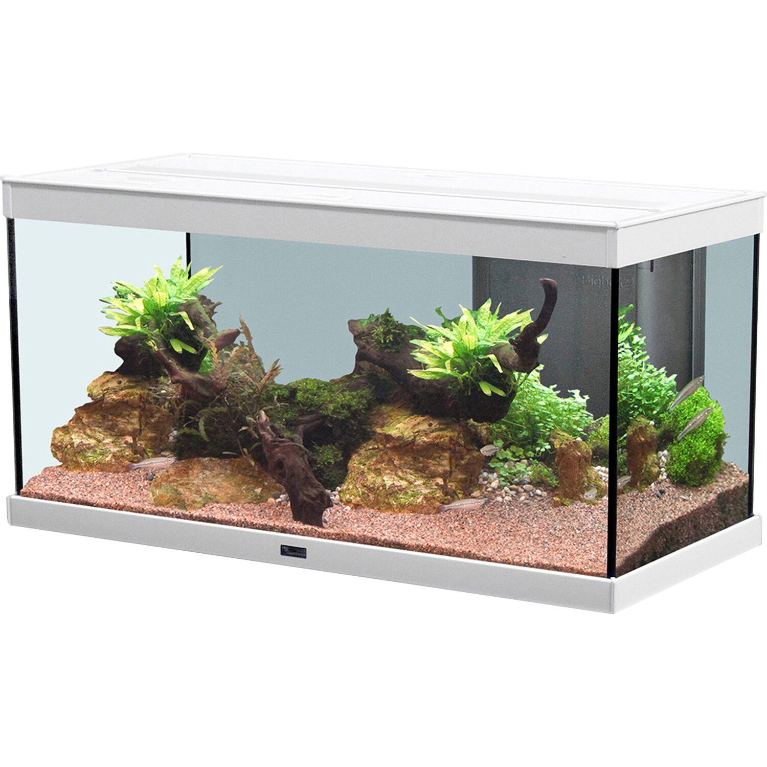 aquatlantis aquarium style led 80 x 35 cm wei 86 l kaufen bei obi. Black Bedroom Furniture Sets. Home Design Ideas