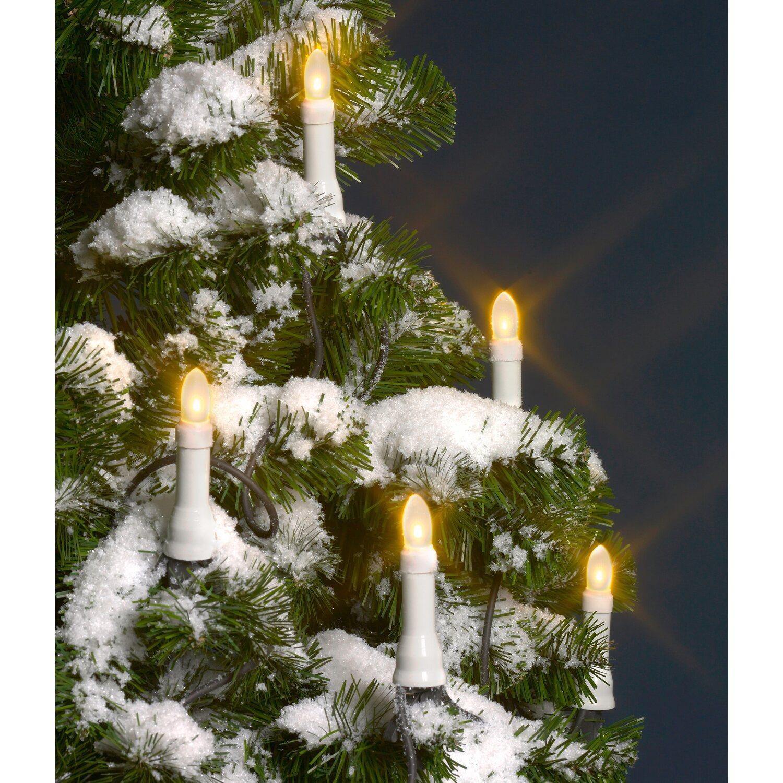 Obi led baumkerzen lichterkette 20 led warmwei kaufen bei obi for Lichterkette weihnachtsbaum obi