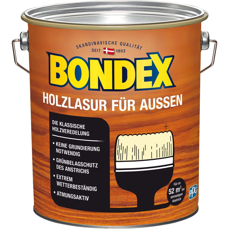 bondex holzlasur f r aussen nussbaum 4 l kaufen bei obi. Black Bedroom Furniture Sets. Home Design Ideas
