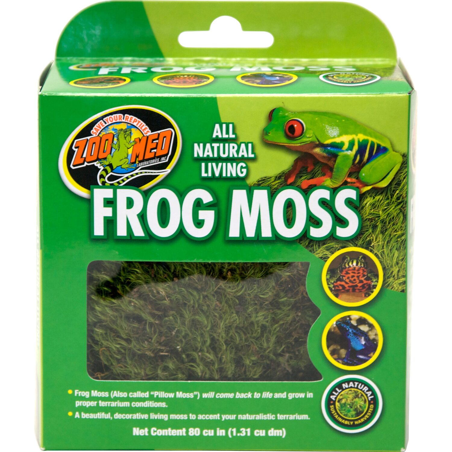 ZooMed All Natural Frog Moss 1,31 l