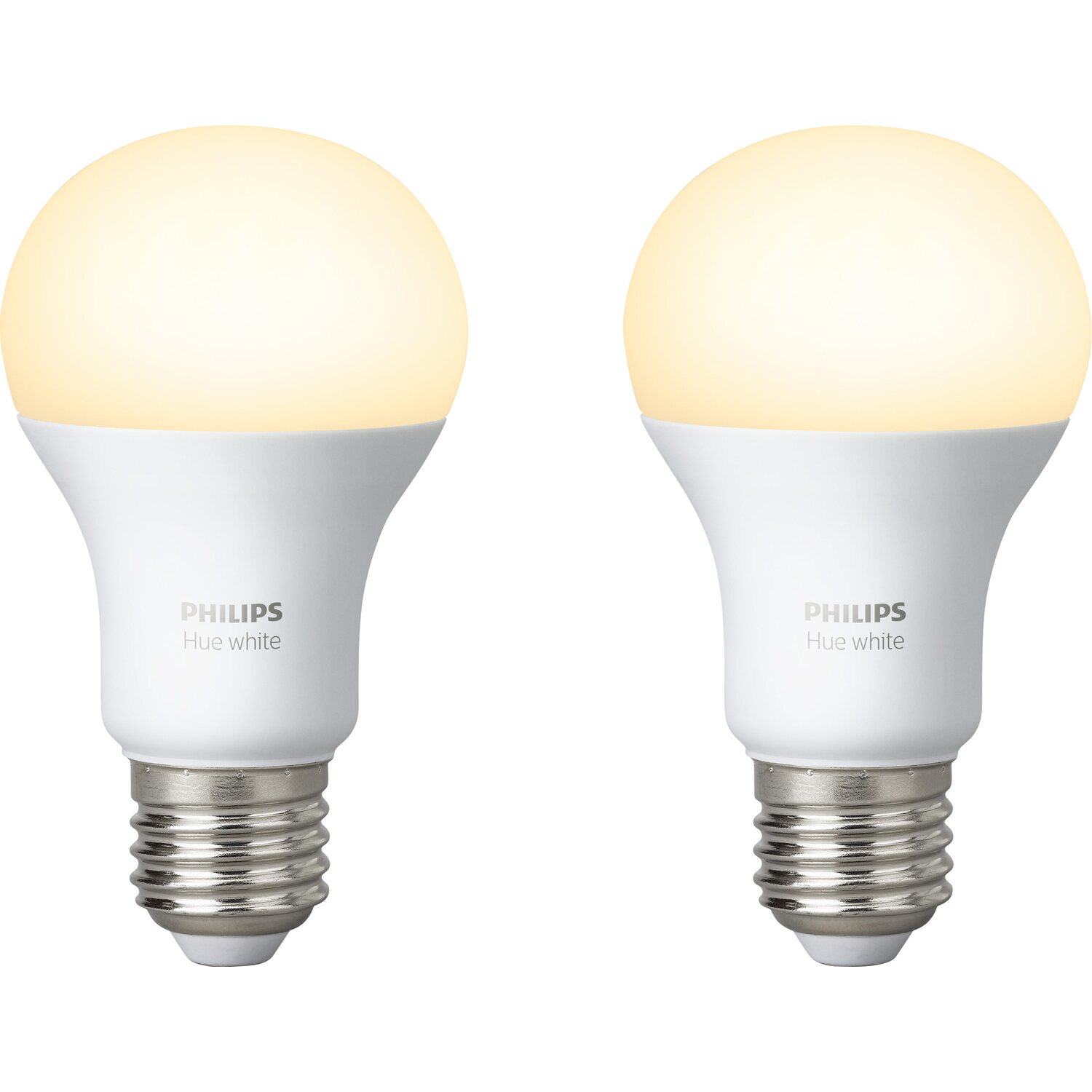 philips hue led lampe white doppelpack e27 9 5w eek a kaufen bei obi. Black Bedroom Furniture Sets. Home Design Ideas