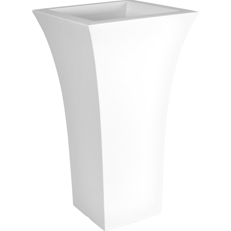 farmet pflanzk bel patio square 48 x 48 cm 85 cm hoch wei kaufen bei obi. Black Bedroom Furniture Sets. Home Design Ideas