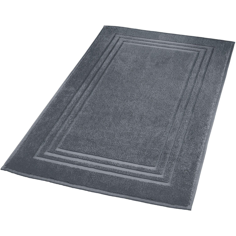 kleine wolke badvorleger lodge 50 cm x 80 cm dunkelgrau kaufen bei obi. Black Bedroom Furniture Sets. Home Design Ideas