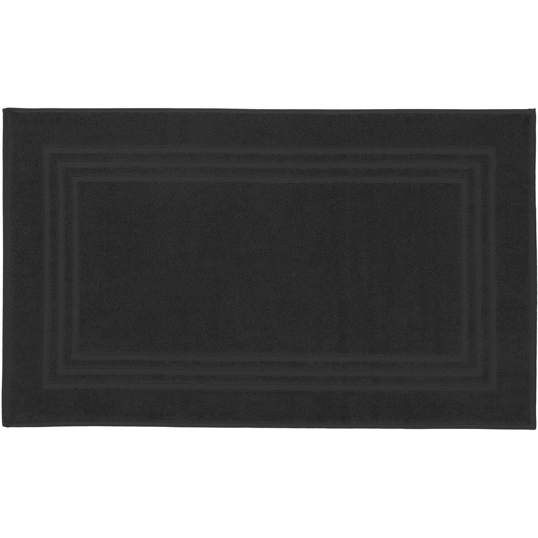 kleine wolke badvorleger lodge 50 cm x 80 cm schwarz. Black Bedroom Furniture Sets. Home Design Ideas