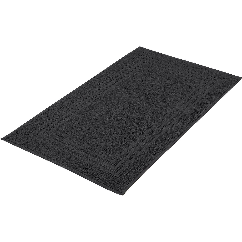 kleine wolke badvorleger lodge 50 cm x 80 cm schwarz kaufen bei obi. Black Bedroom Furniture Sets. Home Design Ideas