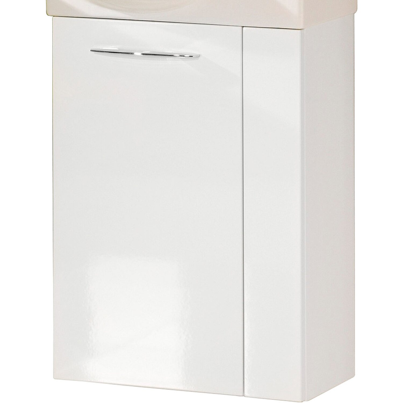Fackelmann  Gäste-Waschbeckenunterschrank links 44 cm Vadea Weiß