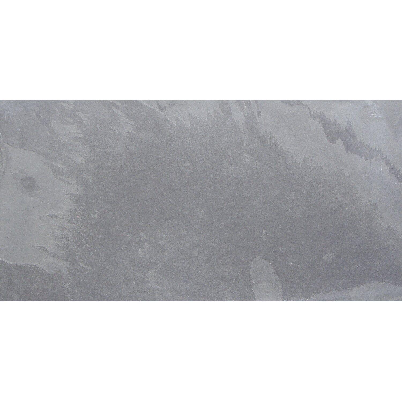 Bodenfliese Schiefer Graphit Naturrauh Cm X Cm Kaufen Bei OBI - Obi schiefer fliesen