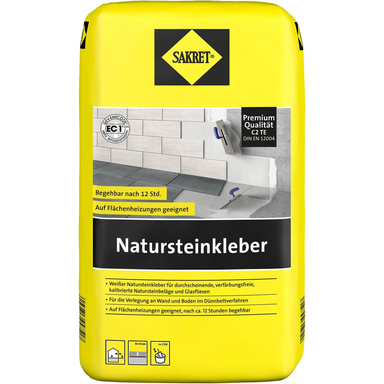 Sakret natursteinkleber wei 20 kg kaufen bei obi - Unterschied fliesenkleber natursteinkleber ...
