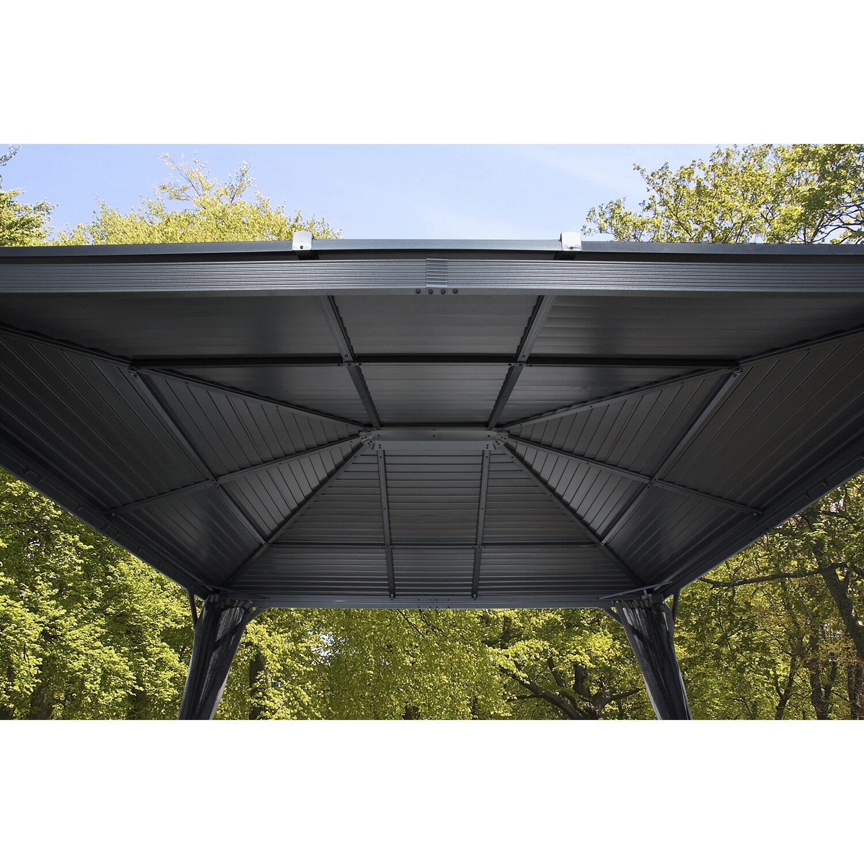 Sojag Aluminium Pavillon Ventura 10 x 10 Anthrazit 296 cm x 296 cm x ...