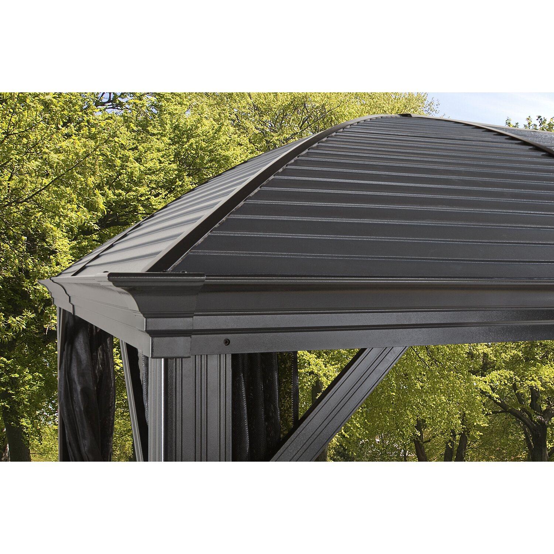 Sojag Aluminium Pavillon Moreno 10 x 14 Anthrazit 298 cm x 423 cm x ...
