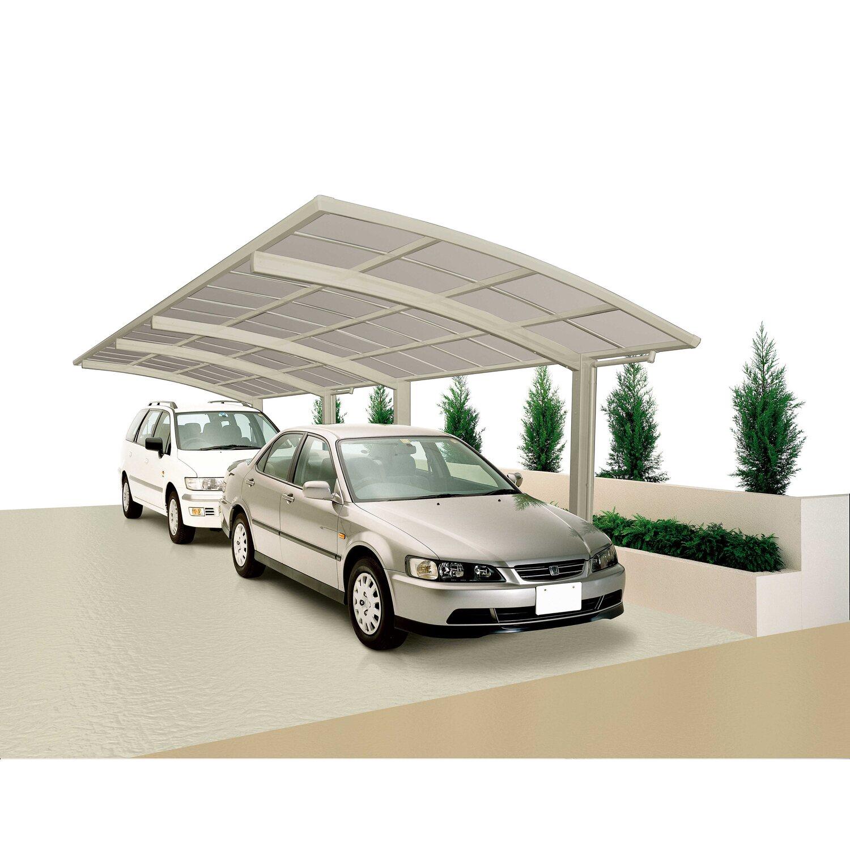 Ximax Carport Portoforte-80 Tandem Edelstahl-Look | Baumarkt > Garagen und Carports > Carports | Ximax