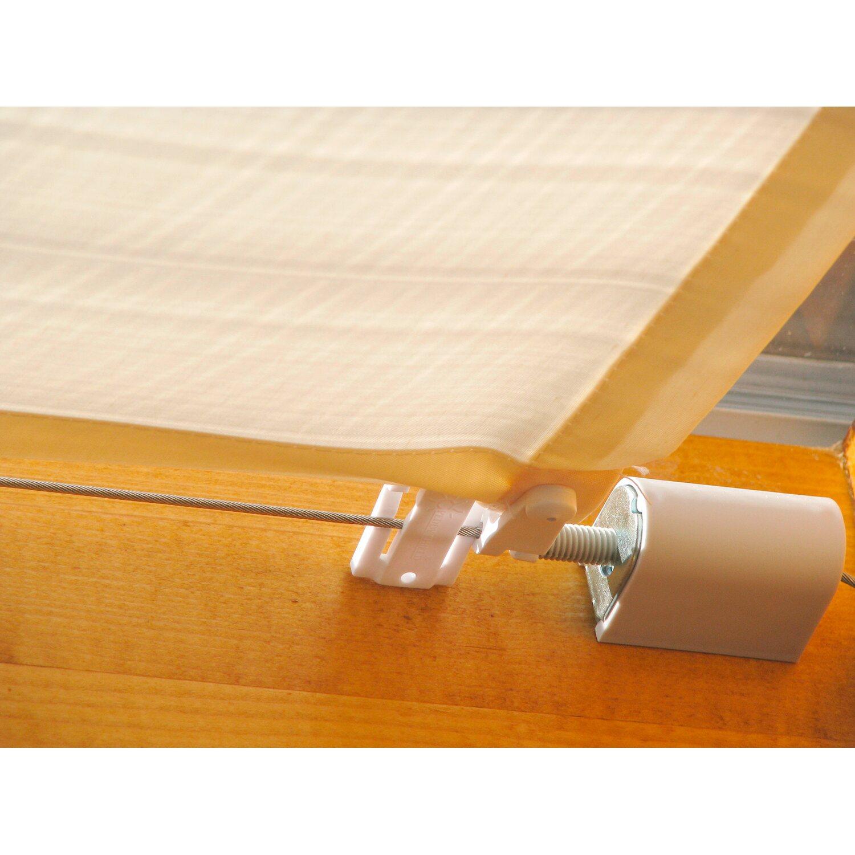Rabatt-Sammlung große Auswahl an Designs langlebig im einsatz Floracord Seilspanntechnik Bausatz rostfrei 14 m Edelstahlseil und Spanner