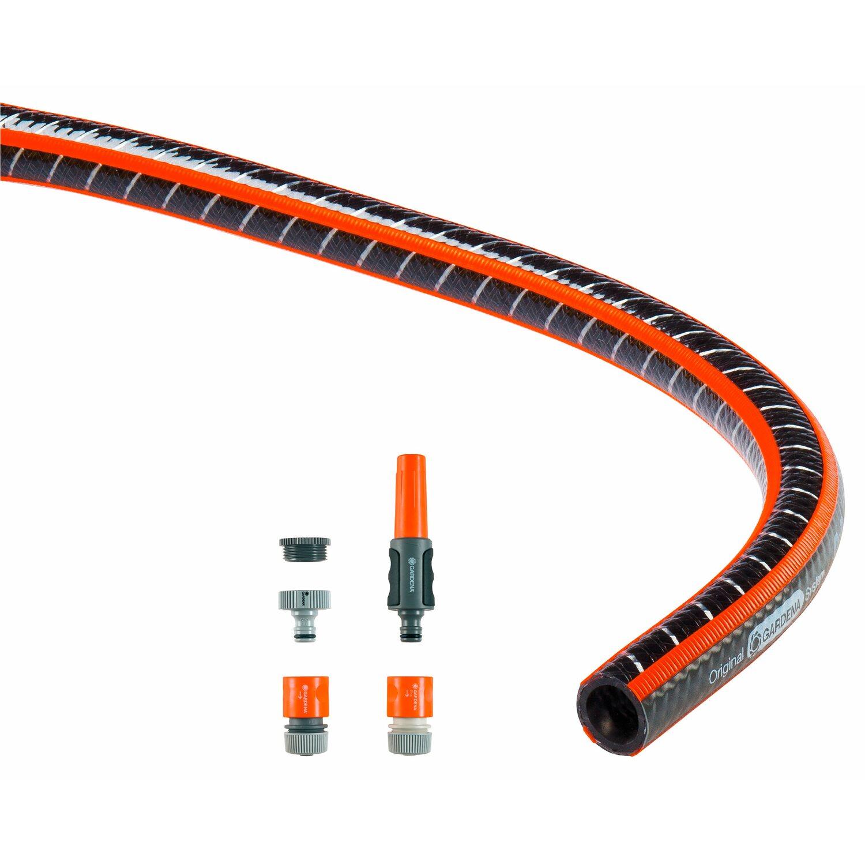 """Gartenschlauch Armaturen-Set 4 TLG für 12,70mm 1//2/"""" NEU Wasserschlauch"""