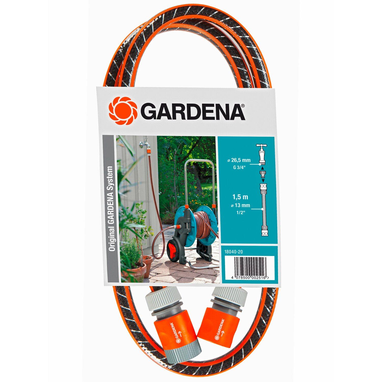 """Gardena 18040-20 Anschlussgarnitur Comfort Flex Schlauchadapter 1,5 m 13 mm 1//2/"""""""