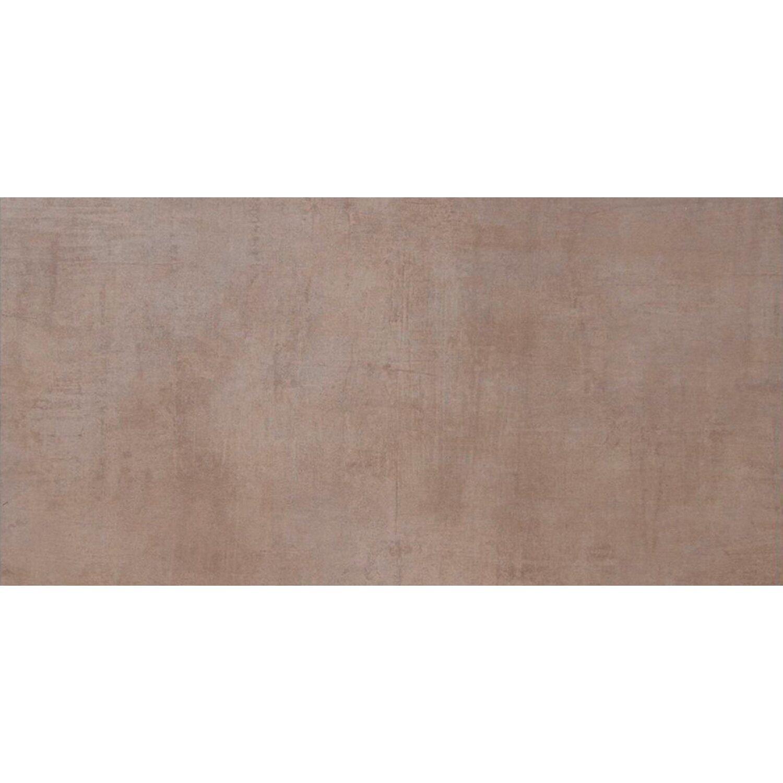 Sonstige Feinsteinzeug Cement Braun matt 45 cm x 90 cm
