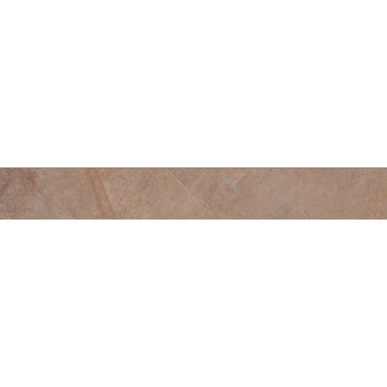 Sonstige Sockel Geo Stone Brown glänzend 8 cm x 60 cm